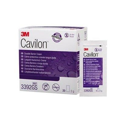 3M CAVILON DURABLE BARRIER CREAM 2G SACHET BOX 20'S