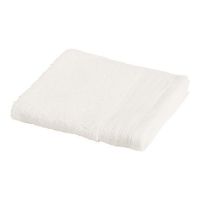 FACE TOWEL 34CMx34CM (WHITE), EACH