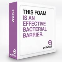 ActivHeal Foam Adh. 7.5 x 7.5, Box 10