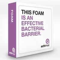 ACTIVHEAL FOAM NON-ADHESIVE 10x10, BOX 10