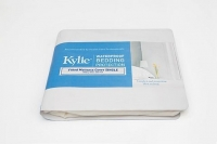 KYLIE FITTED MATTRESS COVER- SINGLE, EACH