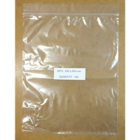 RESEALABLE SANDWICH BAG 205x255MM, PKT 100