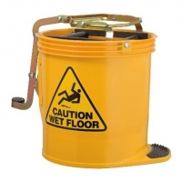 Infection Control Mop Bucket - Yellow - Click for more info