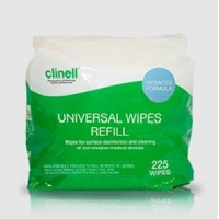 Clinell Sanitising Wipes Pack 225's
