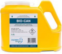 DISPOSABLE SHARPS CONTAINER YELLOW 3.2L EACH