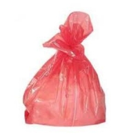 Disolvable Strip Laundry Bags RED