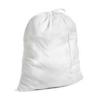 Laundry Bags - White, each