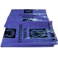 Bag Cytotoxic purple 50Ltr 925x540mm