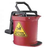16L Mop Bucket - Red