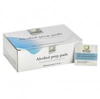 Alcohol Swab Prep Pads 6cm x 6cm, Box 200