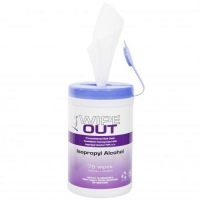 Isopropyl Wipes Ultra Health, Tub 75