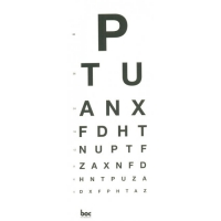 DIRECT EYE CHART 3M 'PTU' EACH