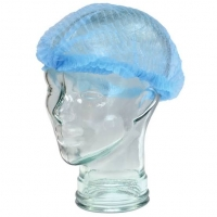 "Round Clip Caps Blue 18"", Pkt 100"