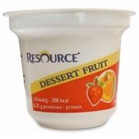 Resource Dessert Apple/Strawberry 125g, Box 24