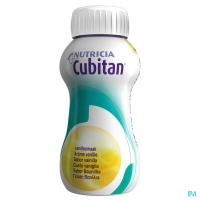 CUBITAN VANILLA 200ML, BOX 24