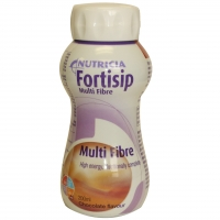 Fortisip Multifibre Chocolate 200ml, Box 24