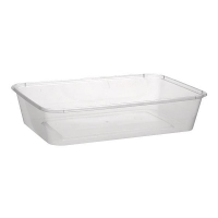 Rectangular Food Container Plastic 700mL, Box 500
