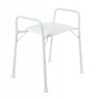 ASPIRE SHOWER STOOL WITH ARMS WIDE 175KG, EACH