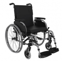 Wheelchair Folding Self Propelled -450mm Silver