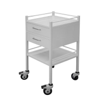 Dressing Trolley PC Steel 2 Draw