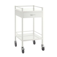 Dressing Trolley PC Steel 1 Draw 490x490x950