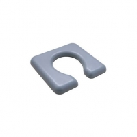 ASPIRE SHOWER COMMODE SEAT OPEN 600MM, EACH