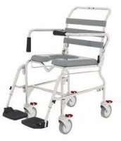 ASPIRE SHOWER COMMODE SWING FOOT 460MM, EACH
