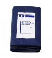 AAXIS NON-WOVEN BED STRETCHER COVER NAVY BLUE, BOX 100