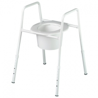 ASPIRE OVER TOILET 460MM TREATED STEEL, EACH