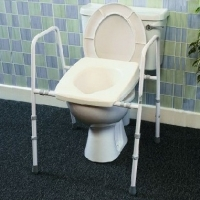 Over Toilet 460mm- Treated Steel