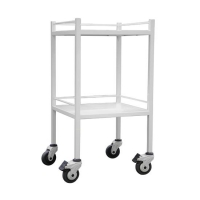 DRESSING TROLLEY POWDER COATED NO DRAWER EACH
