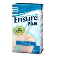 ENSURE PLUS VANILLA TETRA 200ML, BOX 27