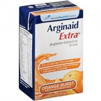 ARGINAID EXTRA ORANGE 237ML, BOX 27