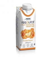 Resource Fruit Bev Orange 237ml, Box 24
