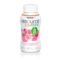 Resource 2.0 Fibre Strawberry 200ml, Box 24