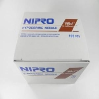 Needle 19G (1.1 mm) x1 ½ (40 mm), Box 100 (Nipro)