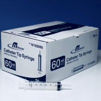 M Devices Syringe 60ml Catheter Tip, Box 50