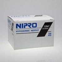 """Nipro Needle 22G (0.7mm) x 3/4"""" (20mm)"""