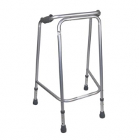 Walking Frame Kit +Front Castors And Rear Skis, Aluminum, Non Folding. Med, each