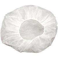 SafetyCare Round beret Cap N-Wov White, Box 100