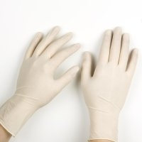 ACTICARE GLOVES LATEX POWDER FREE MEDIUM CLEAR, BOX 100