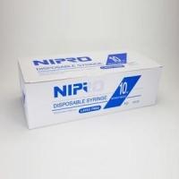 Syringe 10ml Luer Slip w/o Needle, Box 100 (Nipro)