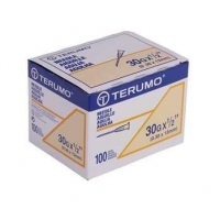 TERUMO Needle Hypo 30G x 1/2 13mm Box 100