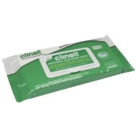 Clinell Universal Sanitising Wipes 40 - Click for more info