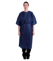 PATIENT GOWN SHORT SLEEVE NON STERILE DISPOSABLE, BOX 50