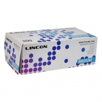 Lincon Gloves Powder-Free Nitrile Blue, Medium, Box 300
