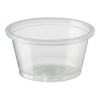 Portion Cup Squat 3/4 Ounce or 22.2 ml, Pack 250
