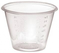 MEDICINE CUPS GRADUATED DISPOSABLE 30ML, PKT 100 - Click for more info