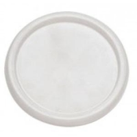 Disposable 250ml Denture Cups Lid, Box 50