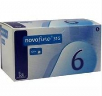 NovoFine Needle 31G 0.3 x 8mm, Box 100